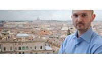 A Rome, les jeux de chemise du premier pensionnaire Mode de la Villa Médicis