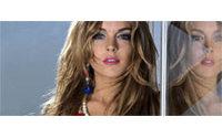 Lindsay Lohan pose pour Fornarina