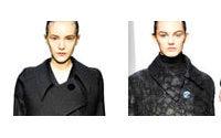 Nero per Klein e brughiera vintage per Lauren in passerella a New York