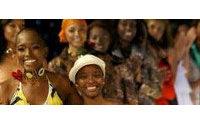 Diseñadora afrocolombiana rinde homenaje a África en el Salón de la Moda