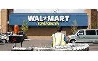US retailers February sales weak, but Wal-Mart shines