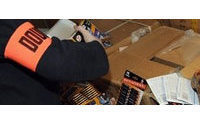 Italian officials seize 150,000 fake Burberry items: report