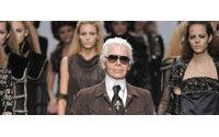 """El negro: """"lo más chic, lo más moderno y lo más actual"""", según Karl Lagerfeld"""