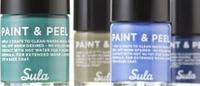 Компания Sula представляет коллекцию лаков для ногтей Paint & Peel