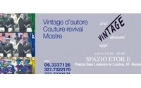 Mostra 'Vintage' a Roma