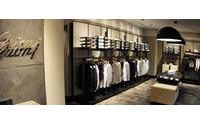 Brioni ha inaugurato boutique a Zagabria