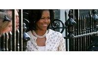 """Michelle Obama y Sarah Brown deslumbran con diseños """"al alcance de todos"""""""
