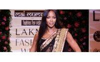 Наоми приняла участие в Индийской неделе моды