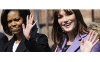 Carla classique, Michelle plus audacieuse : à chaque Première dame son style
