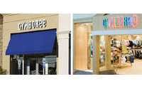 Gymboree stock up on raised outlook