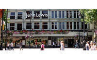 John Lewis weekly dept store sales up 15.5 percent
