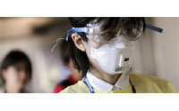 Face masks part of Japan fashion chic for decades