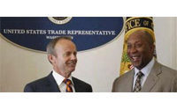 US Trade Representative Kirk says he wants to hear US trade partner views