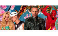 Christian Audigier immortalised by David LaChapelle