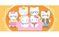 Hello Kitty in Scottish tartan for 35th birthday
