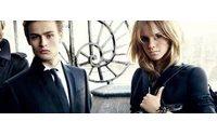 Emma Watson als Burberry Modell