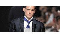 Ermanno Scervino: giacche in rafia e doppia camicia