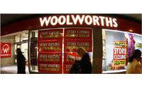 Retailer Woolworths reborn online