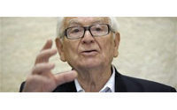Fashion legend Pierre Cardin hospitalised