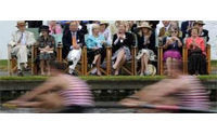 Blazers tell the tale at Britain's Henley Regatta