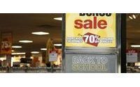 Outlook darkens for US back to school sales