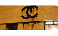 Chanel logo liquified: French street artist Zevs in court in Hong Kong