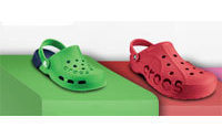 Crocs beats revenue view, shares rise
