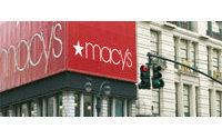 Macy's reports profit on sales, margin growth