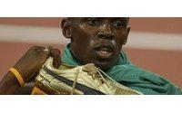 Bolt läuft wie ein geölter Blitz und bricht seinen eigenen Weltrekord