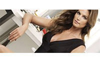 Cindy Crawford poses for German shoe company Deichmann