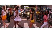 Prostituierte auf dem Laufsteg