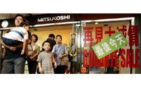 Japan's Mitsukoshi to axe 1,000 jobs
