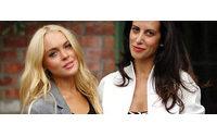 Estrella Archs和Lindsay Lohan执掌Ungaro品牌女装设计