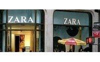 Zara dall'autunno vola su web