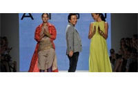 'Hint of India' comes to Milan catwalk