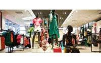 H&M销售额预计与去年同期相比增长2%