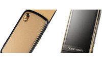 Giorgio Armani lança celular de grife