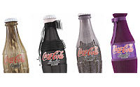 八大时装品牌为可口可乐旧瓶换新装