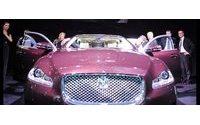 Jaguar 'sposa' moda di Pignatelli