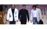 Celebrity siblings walk the ramp at India Fashion Week