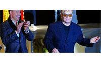 Elton John's gladrags on sale in Covent Garden