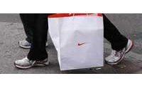Nike : baisse du bénéfice et des ventes