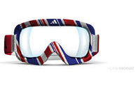 Public vote for the style of Adidas iD2 goggles for Britain's 2010 Winter Olympics athletes