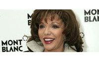 Joan Collins se sube a la pasarela de la Semana de la Moda de Nueva York