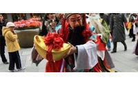 China retail sales soar during holiday period