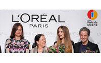 Clara Alonso y Miguel Palacio, premios L'Oreal en la 51 edición de Cibeles
