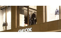 Geox accuse une première baisse de ses ventes