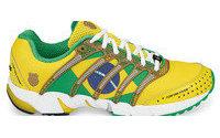Bandeira do Brasil estampa tênis