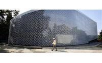 Bottling it up: Taipei's plastic brick pavilion