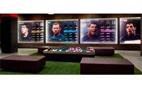 Nike превратил африканский небоскреб в интерактивную LED-панель